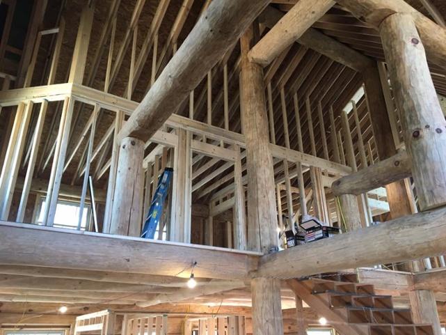 Login Cabin Interior framing