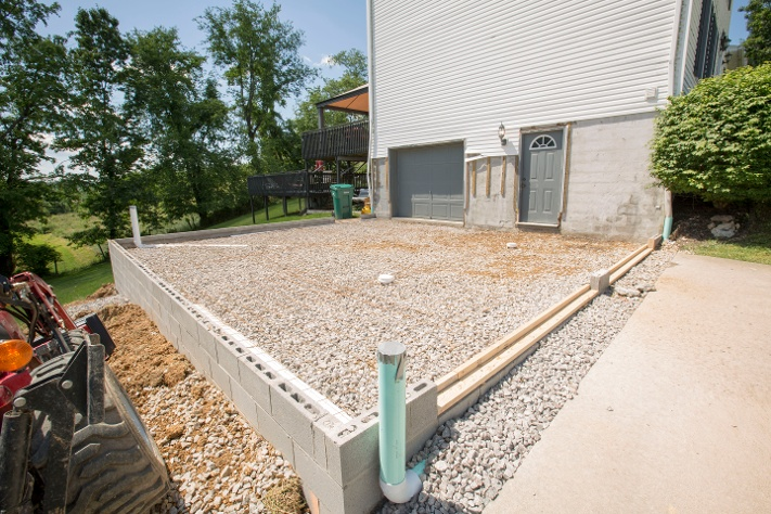 Home Addition Foundation