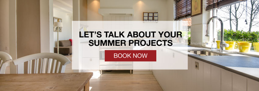 Book now to talk about your summer project
