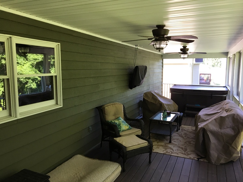 Enclosed Porch Buildout