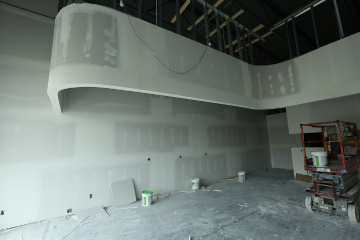 dry wall curve