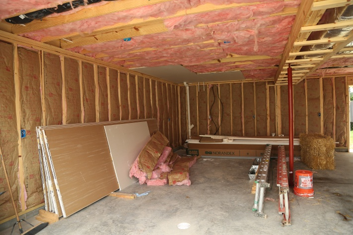 insulation garage addition