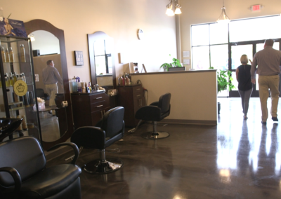 Interior Buildout – Oak Salon