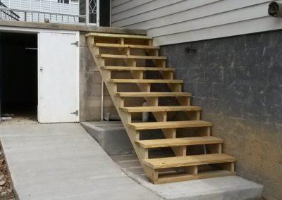 Driveway, Sidewalk and Step Installation
