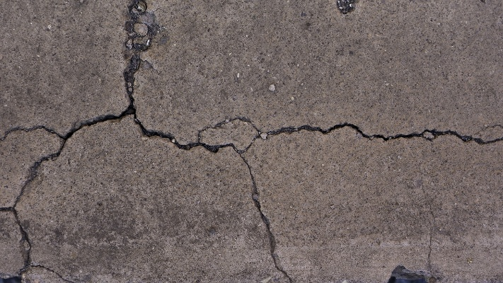 concrete can crack for many reasons